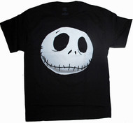 A Nightmare Before Christmas Vintage Style Big Head Mens T-Shirt