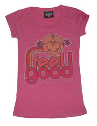Little Miss Sunshine Feel Good Womens T-Shirt by Junk Food Clothing