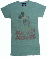 Disney's Mickey Mouse Womens T-Shirt by Junk Food Clothing