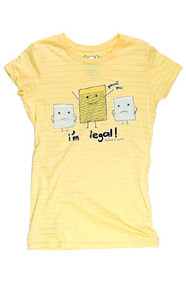 DAVID & GOLIATH I'M LEGAL JUNIORS TEE SHIRT