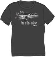 DAVID & GOLIATH IT'S OK I'M A LIMO DRIVER MENS TEE SHIRT