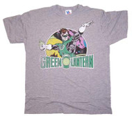 Mens Green Lantern Retro T-Shirt by Junk Food Clothing
