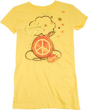DAVID & GOLIATH PEACE BOMB JUNIORS TEE SHIRT