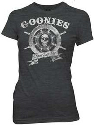Goonies Captain's Wheel Juniors T-Shirt