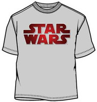 Star Wars Star Star Fade Logo Mens T-Shirt