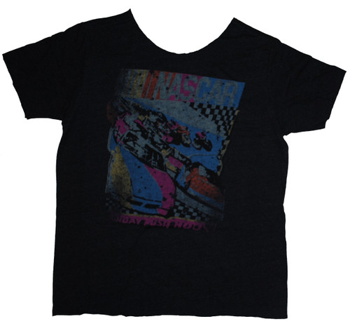 NASCAR Sunday Rush Hours Triblend Womens T-Shirt by Junk Food Clothing