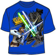 Star Wars Clone Wars Battle Boys T-Shirt
