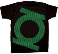 Green Lantern Mini Logos Mens T-Shirt