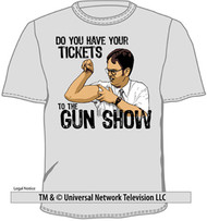The Office Tickets to The Gun Show Mens T-Shirt