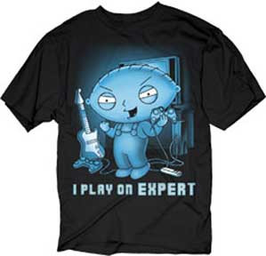 The Family Guy Stewie I Play On Expert T-Shirt - Affordable Family ... a05a54cfd