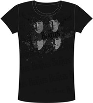 The Beatles Elegant Spray Juniors Tee Shirt