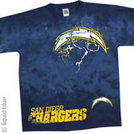 San Diego Chargers Fade NFL Mens T-Shirt