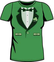 Irish Tux Juniors T-Shirt