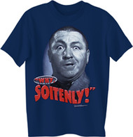The Three Stooges Why Soitenly Mens T-Shirt