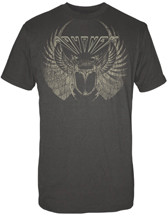 JOURNEY DISTRESSED TOUR SCARAB MENS TEE SHIRT
