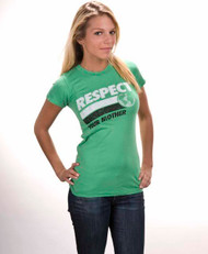 Respect Your Mother Womens T-Shirt by Local Celebrity
