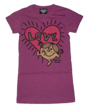 Little Miss Sunshine Love Womens Tee Shirt by Junk Food Clothing