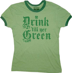 Funny St. Patrick's Day T-Shirt at Thatsmyshirt.com
