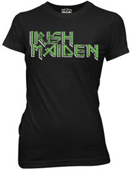 Cool Irish T-Shirt that says Irish Maiden