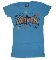 Cool Batman T-Shirt by Junk Food Clothing on blue tee