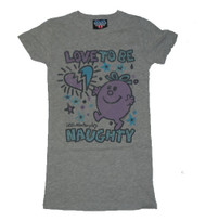 A cool version of the Little Miss Naughty T-Shirt by Junk Food Clothing