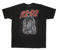 Cool Junk Food T-Shirt featuring Star Wars character R2D2