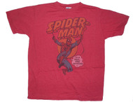 Mens Junk Food Tees Spider-Man Real Web Swinger Tee Shirt