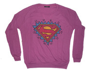 Cool lightweight Superman crew neck