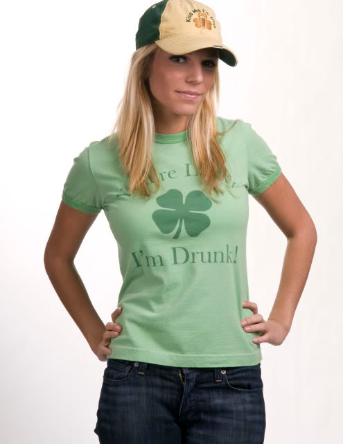 Funny Irish t-shirt for St. Patrick's Day