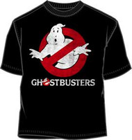 Ghostbusters Logo to Go Mens T-Shirt