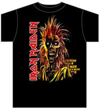 Iron Maiden First Album Tee Shirt