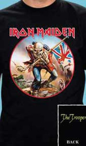 Iron Maiden The Trooper Mens Tee Shirt
