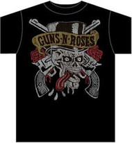 GNR Skull Tongue t-shirt