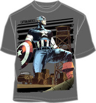 Marvel Comics Captain America The Fort Mens Tee Shirt