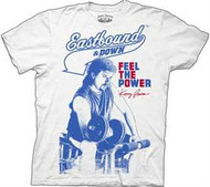 Eastbound & Down Kenny Powers Feel The Power Mens Tee Shirt