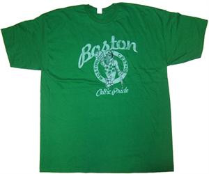 Boston Celtics Celtic Pride Mens Vintage Style T-Shirt by Mighty Fine