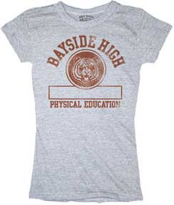 Saved by The Bell Bayside High Phys Ed Juniors Tee Shirt