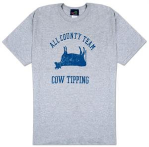 All County Team Cow Tipping Mens T-Shirt