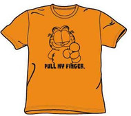 Garfield Pull My Finger Mens T-Shirt