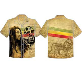 MARLEY VINTAGE BOB & LION CLUB SHIRT