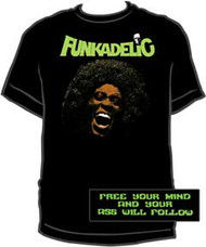 FUNKADELIC MAGGOT BRAIN MENS TEE SHIRT