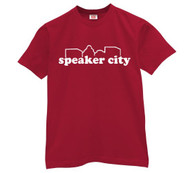 Speaker City Mens T Shirt