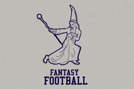 Fantasy Football Mens Tee Shirt in Gray