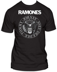 Ramones Presidential Seal Mens Tee Shirt