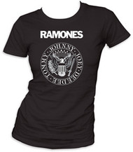 Ramones Presidential Seal Juniors Tee Shirt