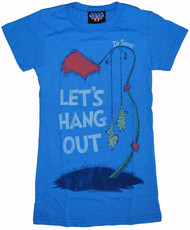 Junk Food Dr. Seuss Let's Hang Out Womens Tee Shirt