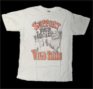 Mens Support Your Local Wild Thing Tee Shirt by Junk Food Clothing