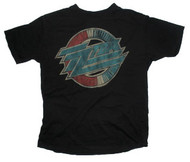Junk Food Mens ZZ Top Tee Shirt in Black Wash