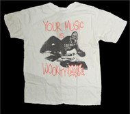 Junk Food Mens Star Wars Chewbacca Your Music Is Wookity Wack Tee Shirt