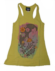 Junk Food Wonder Woman Womens Tank Top in Yellow